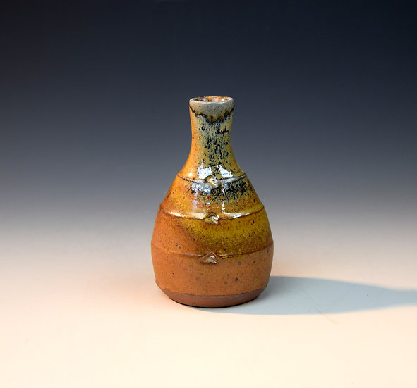 Soda fired bud vase 04