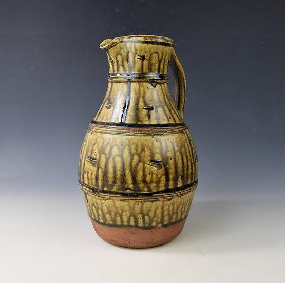 Large Ash glazed jug