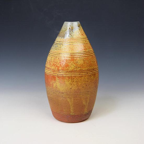 Soda oval vase