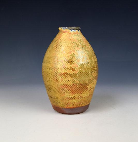 Soda fired vase