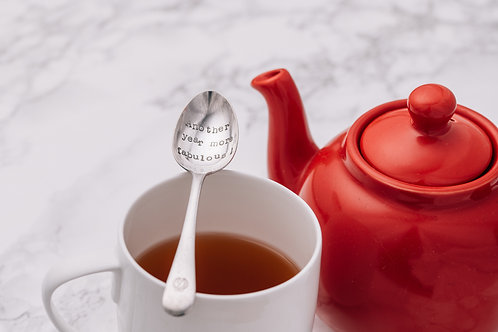 'Another year more fabulous' Teaspoon
