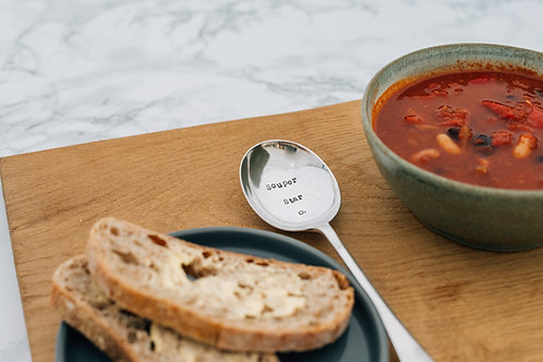 Souper star soup spoon