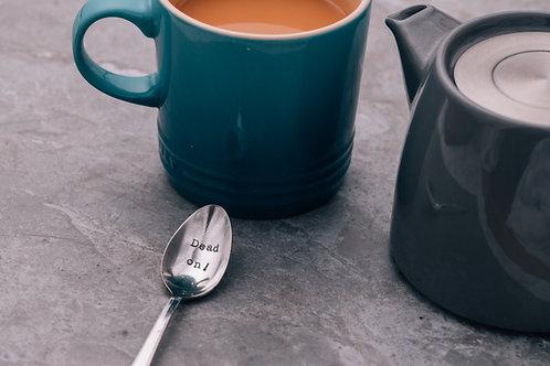 Dead on! teaspoon