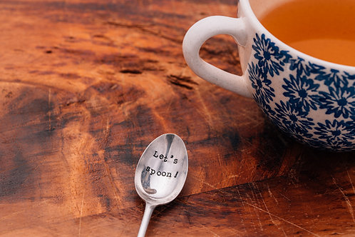 'Let's spoon' Teaspoon