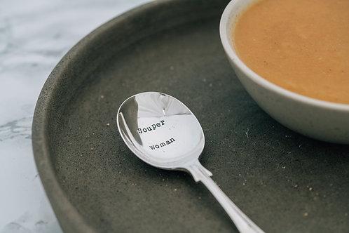 Souper Woman soup spoon