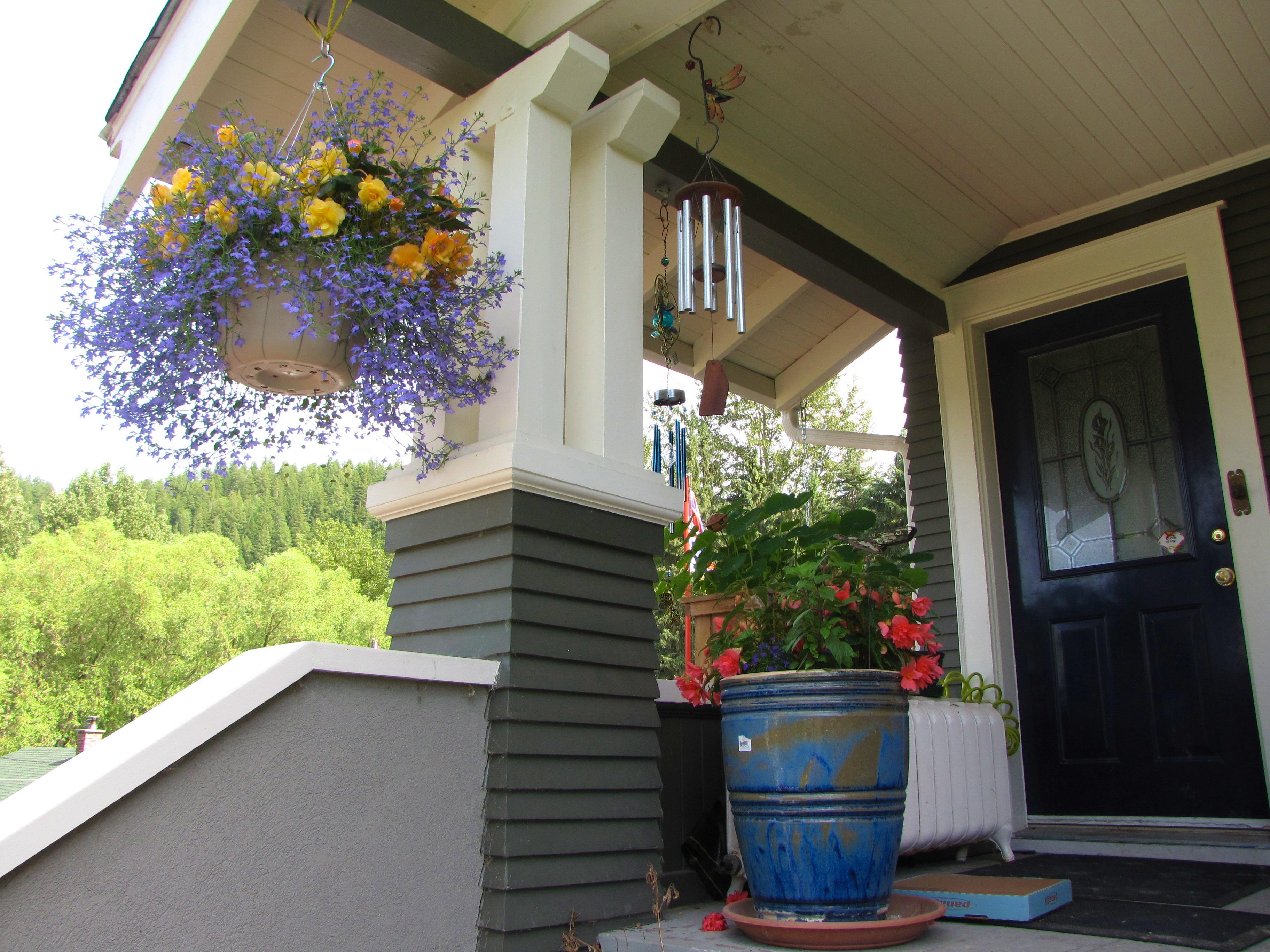 Freshly Painted Veranda