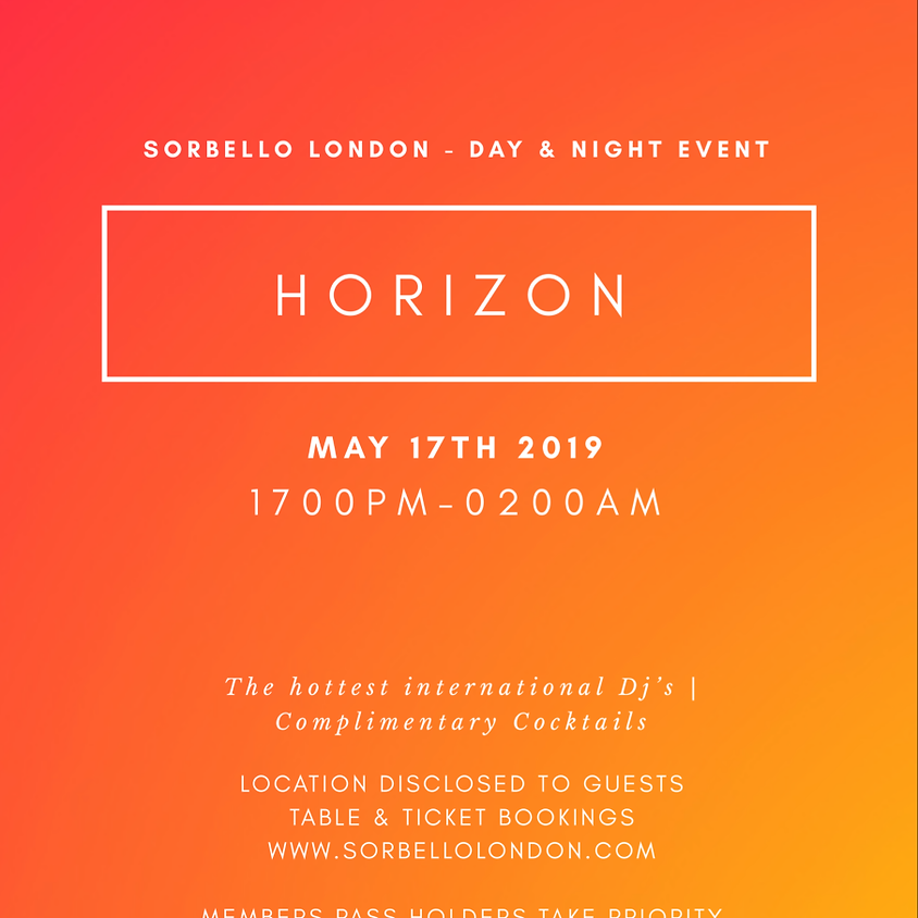 HORIZON' ALL DAY PARTY
