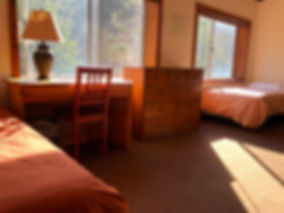Lodge with two beds