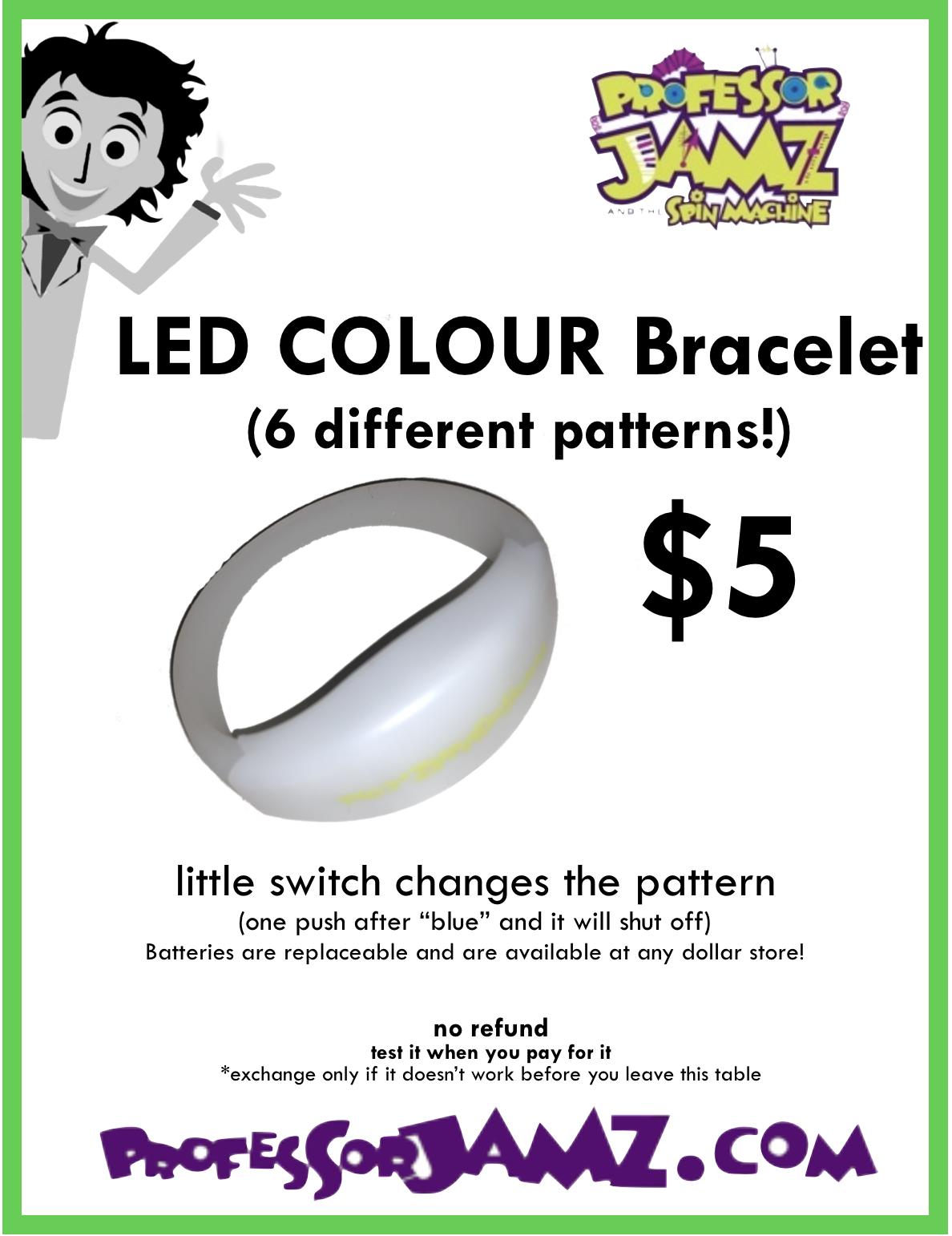5 Colour Bracelet