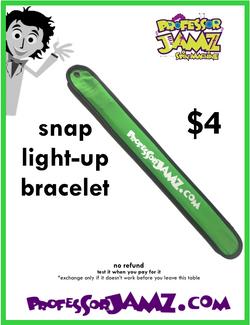 4 Snap light up