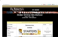 orderdarobertas online food ordering system