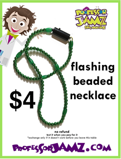 4 Bead necklace