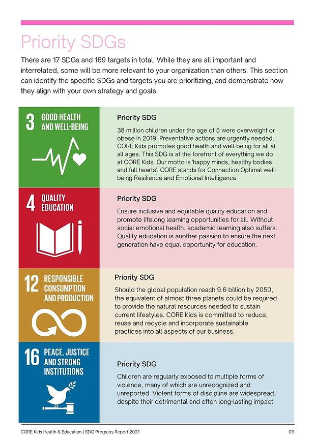 Cyan Photo Clean & UN Style NFPs SDG Pro