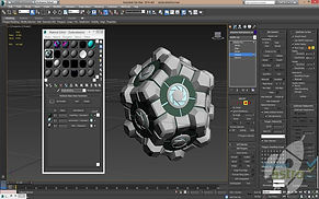 3D Spline Modeliavimas