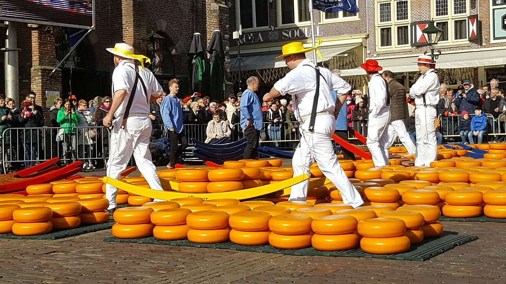 Alkmaar Cheese Carriers