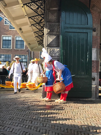 The Alkmaar Cheese Market