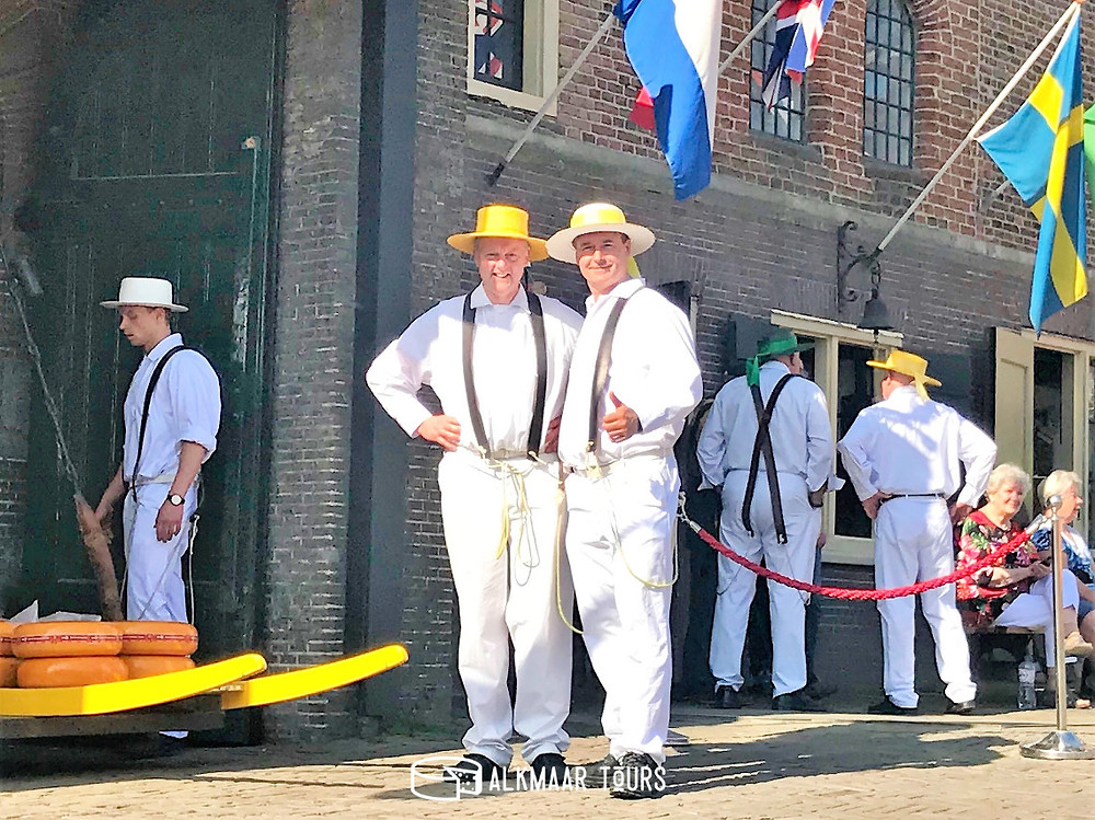 Cheese Carriers at the Alkmaar Cheese Carriers