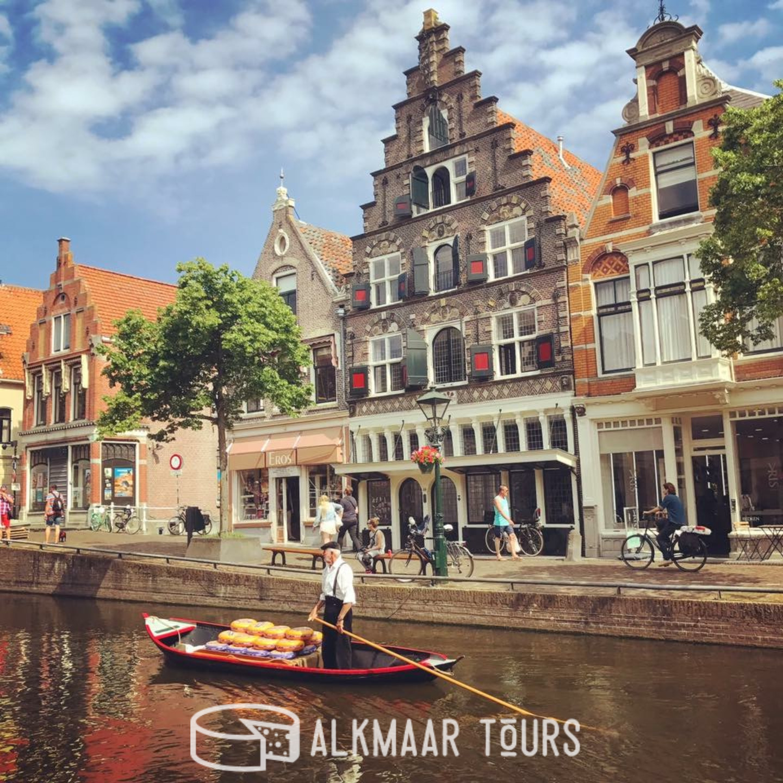 Cheese Boat, Alkmaar Cheese Market