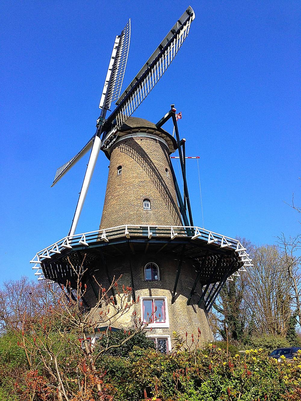 Alkmaar's Piet's Windmill or Molen van Piet