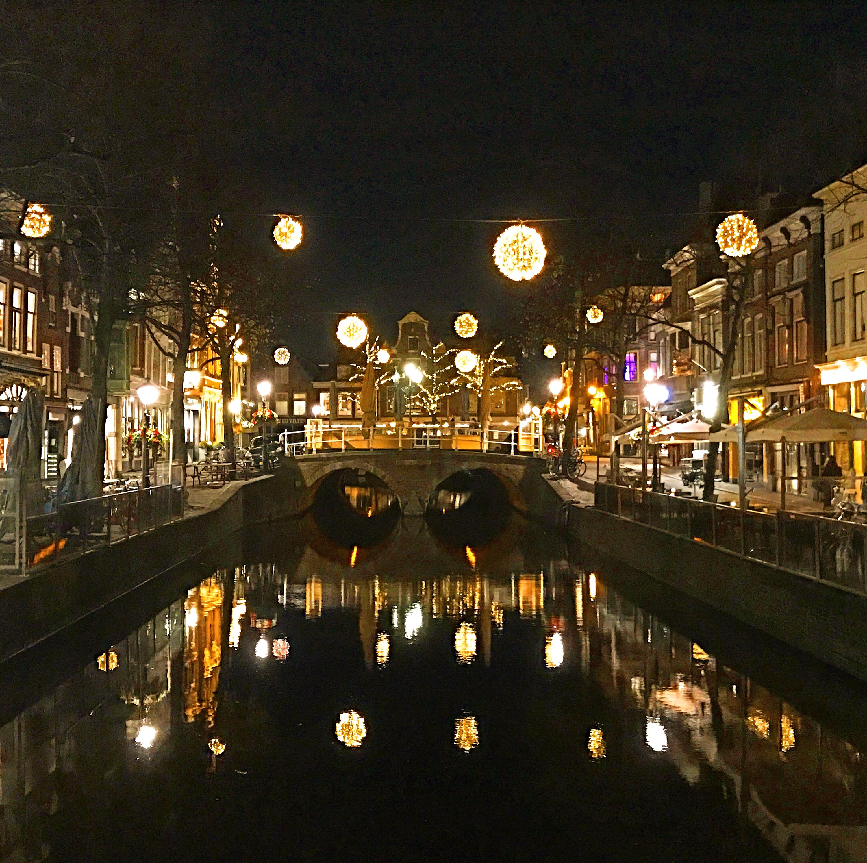 Alkmaar's winter lights