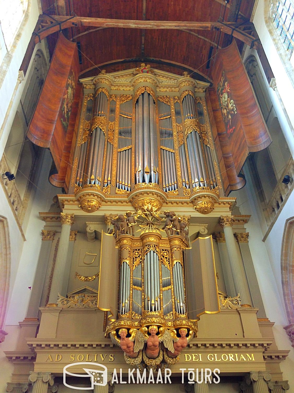 Inside the Grote Kerk
