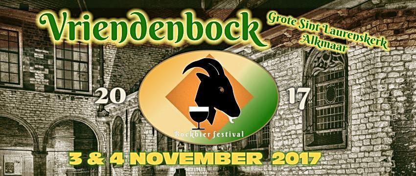 Vriendenbock Festival Flyer