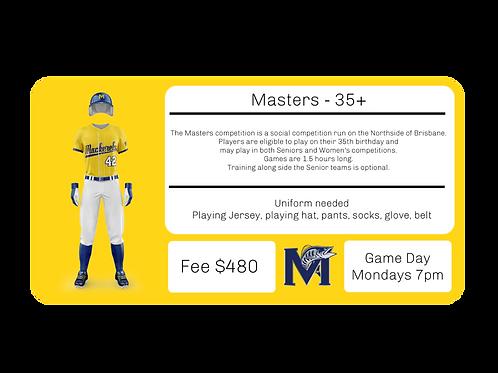 Masters 35+