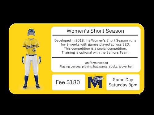 Women's Short Season