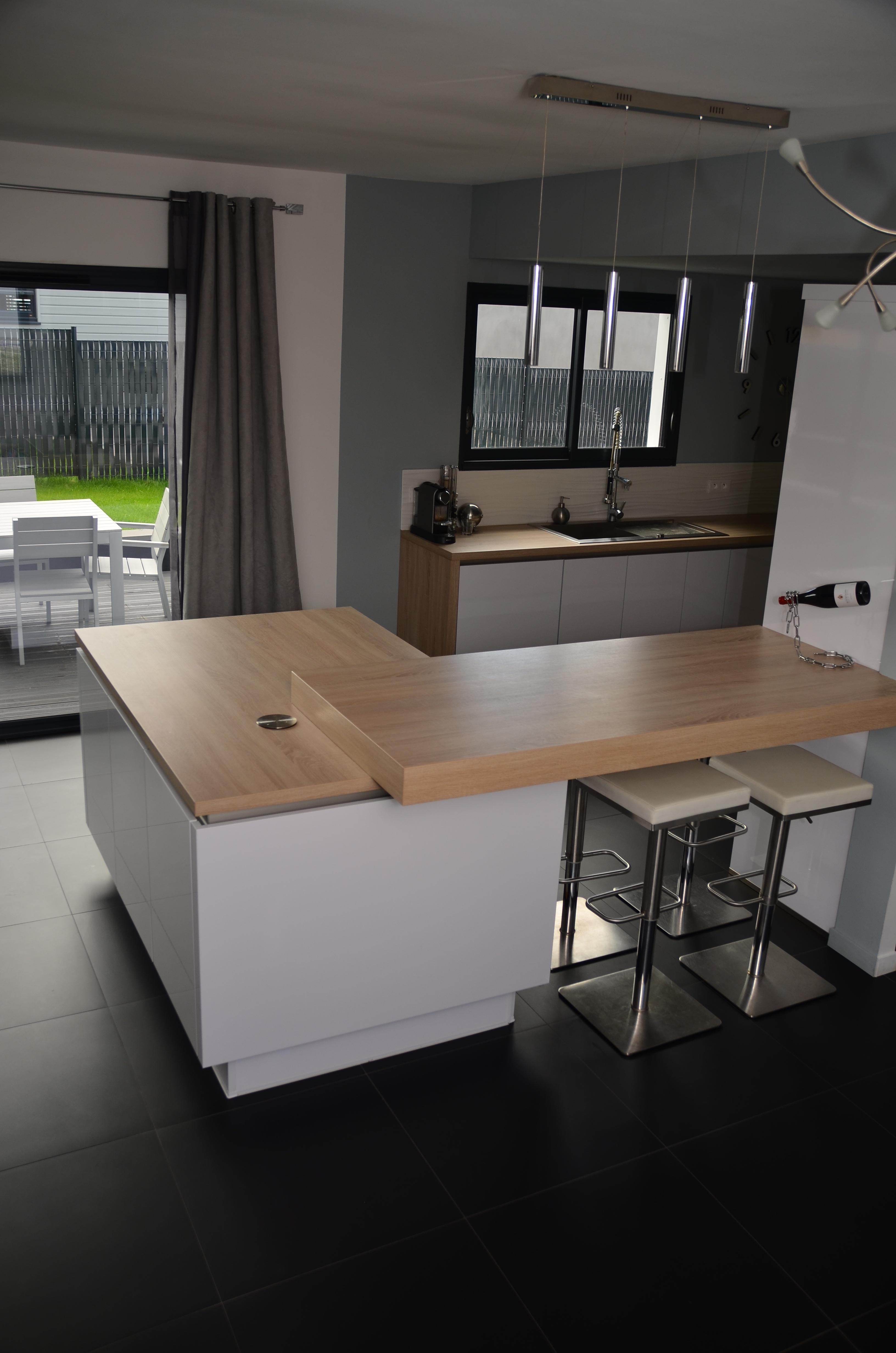 Ilot design |  Nantes | Pose cuisine