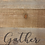 "Thumbnail: Handcrafted Distressed ""Gather"" Wood & Metal Tray"