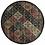 Thumbnail: 2' x 3' Warm Tone Trellis Design Accent Rug