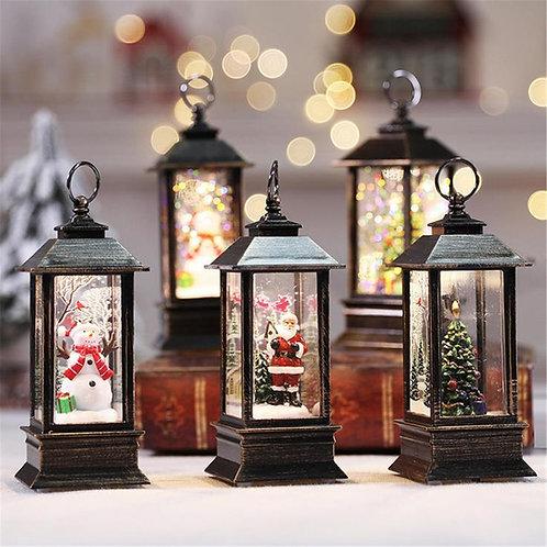 LED Holiday Lantern Night Lights