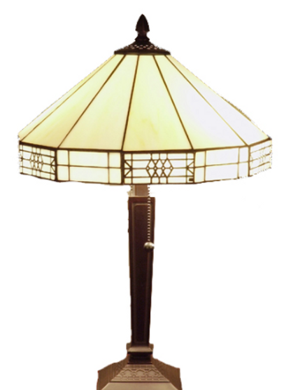 Tiffany Mission Style Table Lamp
