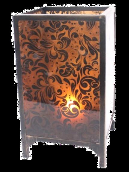 Vintage Cuboid Candle Holder