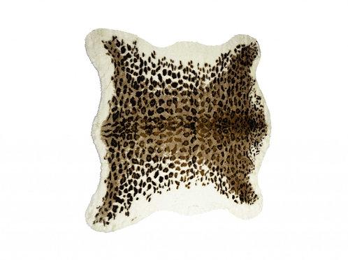 """51"""" x 60"""" El Paso Leopard Faux Hide - Area Rug"""