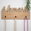 Thumbnail: Namaste Greeting Wooden Wall Decor With Hooks