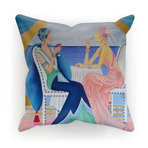 Art Deco Cruising Women Cushion