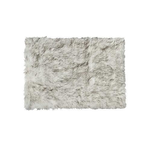 "36"" x  60"" Gradient Gray, Rectangular, Faux Fur - Area Rug"