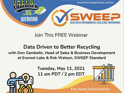 Data-Driven to Better Recycling