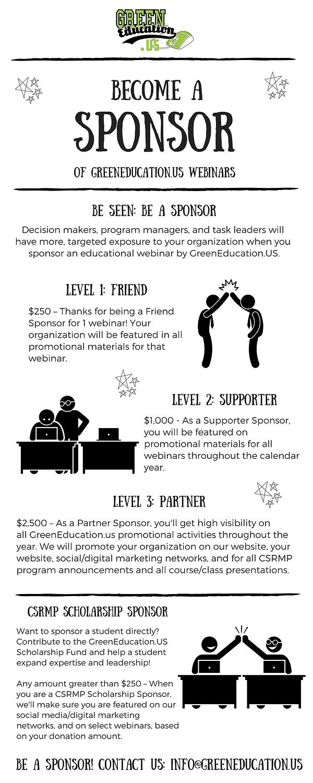 GreenEducation.US - Sponsorship Infograp
