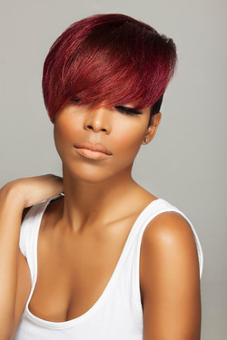 Bold Color with Under Cut