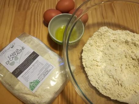 Sfoglia con farina di castagne