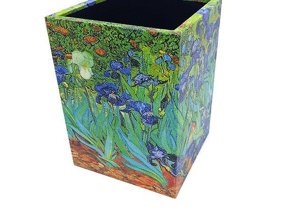 Porta Lápis Van Gogh Iris Roxo