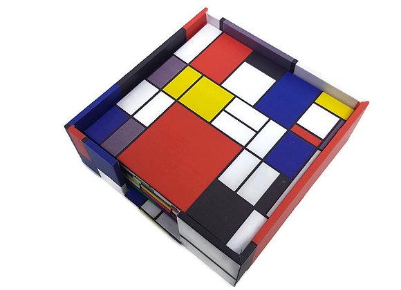 Porta Copos Piet Mondrian