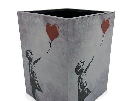 Porta Lápis Banksy Menina Balão