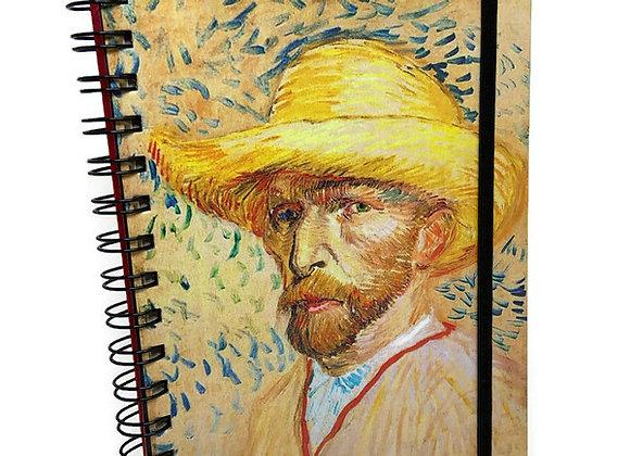 Caderno Van Gogh Auto Retrato