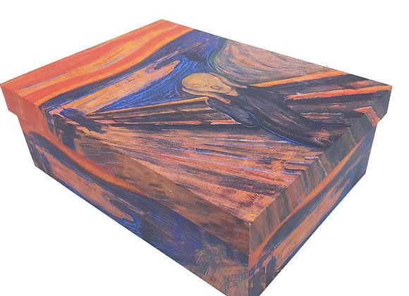"Caixa Grande Van Gogh ""O Grito"""