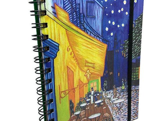 Caderno Van Gogh Bar de Nuit