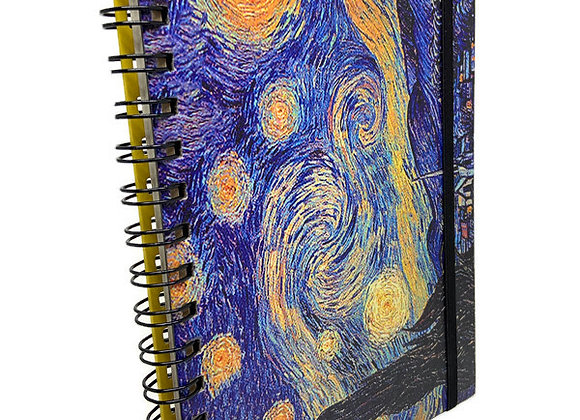 Caderno Van Gogh Noite Estrelada