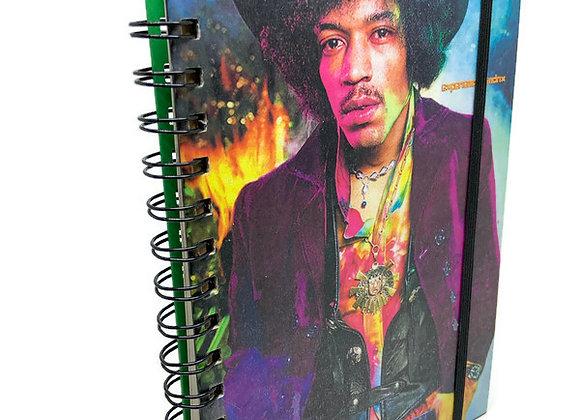 Caderno Jimi Hendrix